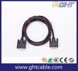 High Speed 1080P/2160p PVC Jacket DVI to DVI Cable
