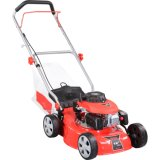 "140cc 16"" Hand Push Lawn Mower with Grass Bag"