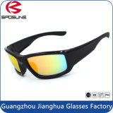New Outdoor Dust-Proof Rubber Custom Logo Eyewear Ce En166 Sunglasses