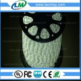 IP65 High Voltage Christmas2 Wire Round Vertical LED Rope Light