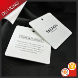 Factory Price Paper Hang Tag for Quality Garment
