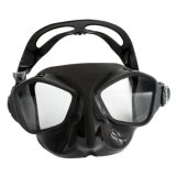 Free Diving Mask for Adult, Making Silicone Free Dive Mask with Adjustable Buckle
