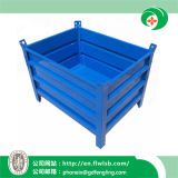 Collapsible Steel Turnover Container for Transportation with Ce