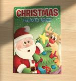 Christmas Sticker Drawing Book for Children