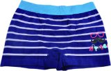 Boy′s Strip Seamless Printing Boxer Shorts