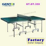 Foldable&Movable Design 25mm Table Tennis Table