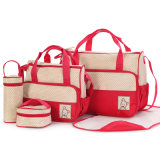 Fashion High Quality Travel Diaper Bag in Set