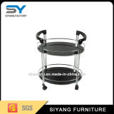 Chinese Furniture Stainless Steel Buffet Car Trolley