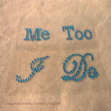 Creative I Do Me Too Wedding Rhinestone Wall Sticker Decoration for Shoes (TS-513/I Do Me Too)