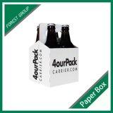 Cusotm Printed 4 Pack Beer Bottle Box