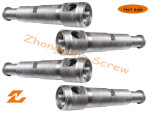 Extrude Conical Double Screw and Barrel