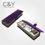 5 Slots Fancy Purple Velvet Chocolate Box