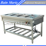 Free Standing Bain Marie with 4 Pans Rtc-4W