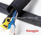 Hy-Sck Cable Management Wrap Waved Self-Closing Cable Wrap