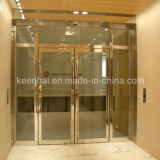 Polished Finish Stainless Steel Frame Glass Door