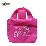 Recycled 190 T Polyester Foldable Shopping Bag