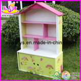 Wooden Furniture Children Bookcase, for Age 3+ (W08D011)
