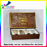 Four Sets Base and Lid Cosmetic Paper Gift Box with Hotstamping
