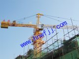 Tower Crane, Hammer Head Crane Tc6010-6 with 60meter Jib, 6ton Capacity