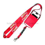 Fashion Design Lanyards with Mobile Holder