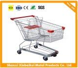 60L Supermarket 4 Wheels Cart Trolley, Shopping Trolley, Shopping Cart