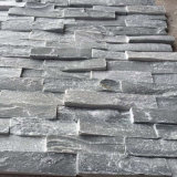 Black Slate Stacked Stone Wall Panels (SMC-SCP481)