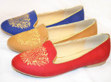 Fashion Embroider Flat Heel Women Casual Shoes A144102390