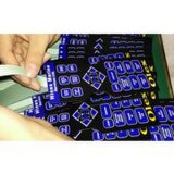 Customized Lgf Backlight Membrane Switches, Mic0786