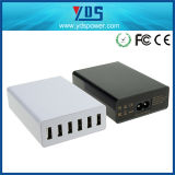 Ce FCC RoHS Approved High Quality 60W 6 USB Charger for USB Device