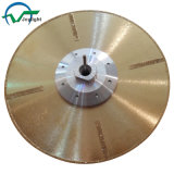 Continuous Rim Electroplated Diamond Saw Blade with Protection Segments (JL-EDBP)