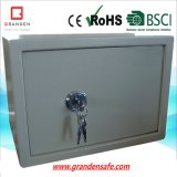 Mechanical Cross Key Lock Safe Box (G-20KY) , Solid Steel