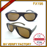 Fx198 Flat Top Wooden Sunglasses