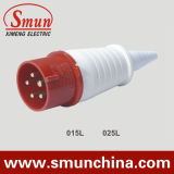 16A 32A 5pin 220V-415V 3p+N+E Industrial Plug and Socket IP44 Red