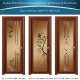 Coffee Color Aluminium Casement/Swing Door Hinged Door