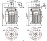 8kw 300rpm Low Speed Vertical Permanent Magnet Generator