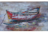 Abstract Boat Oil Painting (LH-700514)