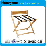 Hotel Wood Luggage Rack for Hotel Amenities
