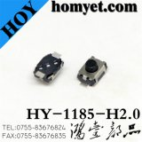 Round Button Tact Switch with 4*3*2mm Registration Mast 2 Pin SMD (HY-1185-H20)
