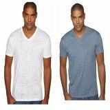 Customized V-Neck T-Shirt for Men