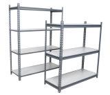 Light Duty Industrial Warehouse Steel Plate Metal Storage Rack