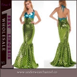 Theatrical Fairy Halloween Adult Sirena Mermaid Party Dance Costume (TENN89113)