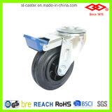 100mm Rotating Industrial Rubber Caster (G103-31D100X30IS)