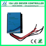 Auto 12V/24V 15A Waterproof Solar Charge Controller (QWP-1415WP2)