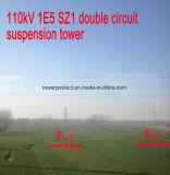 Megatro 110kv 1e5 Sz1 Double Circuit Suspension Tower