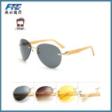 High Quality Sunglasses with Wood Fram