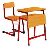 School Furniture Wooden School Single Desk and Chair