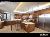 Classic Solid Wood Kitchen Cabinets (CECILIA)