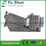 Automatic Screw Sludge Dewatering Thickening Filter Press Machine