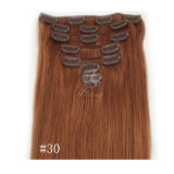 Clip in Human Hair Extensions 7PCS/Set Brazilian African American Clip in Human Hair Extensions