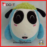 Promotional Gift Logo Embroidery Stuffed Plush Cow Toy for Cheese Farmhouse